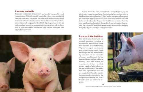 Inner World of Farm Animals Their Amazing Social, Emotional, and Intellectual Capacities  2009 9781584797487 Front Cover