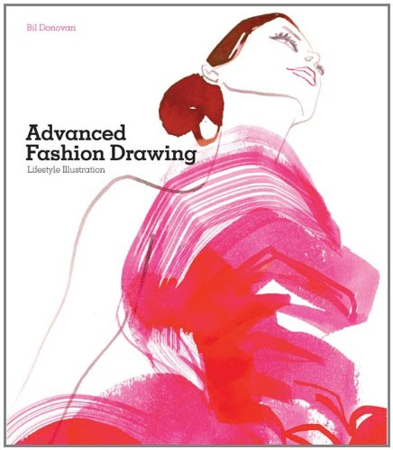 Advanced Fashion Drawing Lifestyle Illustration  2010 edition cover