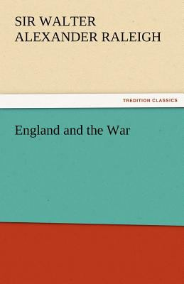 England and the War  N/A 9783842424487 Front Cover