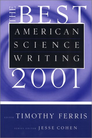 Best American Science Writing 2001   2002 9780060936488 Front Cover