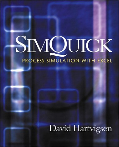 SimQuick Process Simulation with Excel  2001 9780130651488 Front Cover