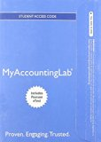 MYACCOUNTINGLAB W/ETEXT 1 SEM. N/A 9780132871488 Front Cover