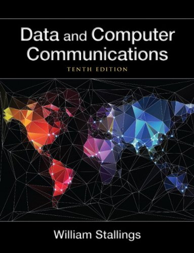 Data and Computer Communications  10th 2014 edition cover