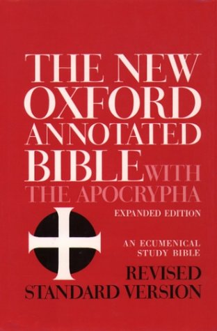 New Oxford Annotated Bible with the Apocrypha  Revised  edition cover
