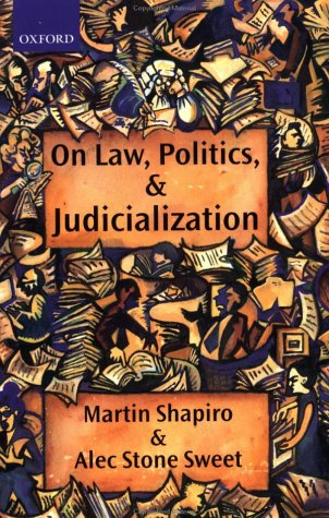 On Law, Politics, and Judicialization   2002 edition cover
