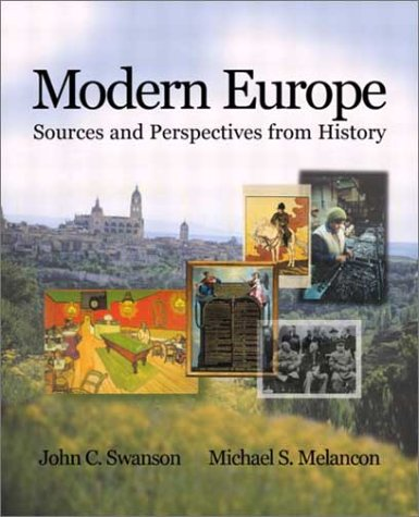 Modern Europe Sources and Perspectives from History  2003 edition cover