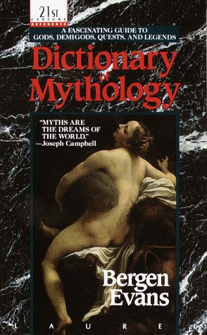 Dictionary of Mythology  N/A edition cover