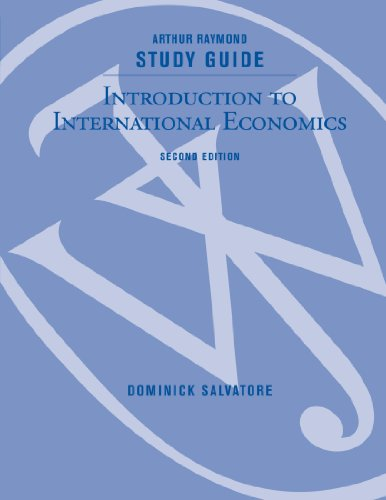 Introduction to International Economics  2nd 2010 (Guide (Pupil's)) 9780470429488 Front Cover