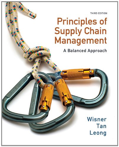 Principles of Supply Chain Management A Balanced Approach 3rd 2012 9780538475488 Front Cover