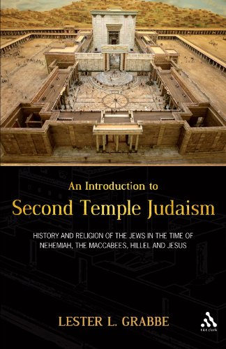 Introduction to Second Temple Judaism History and Religion of the Jews in the Time of Nehemiah, the Maccabees, Hillel, and Jesus  2010 edition cover