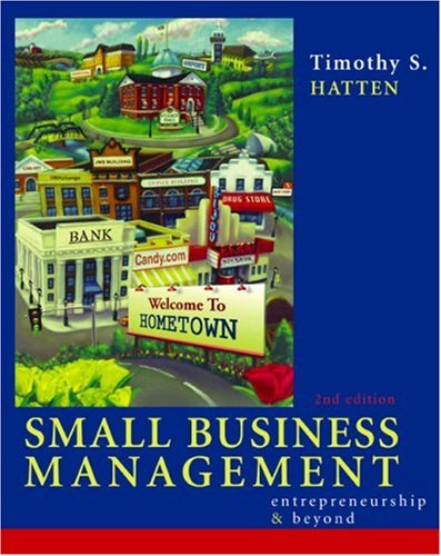 Small Business Management Entrepreneurship and Beyond Entrepreneurship and Beyond 2nd 2002 9780618128488 Front Cover