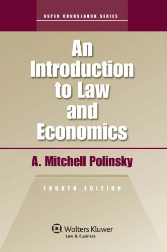 Introduction to Law and EConomics 4e  2010th 2011 (Revised) edition cover