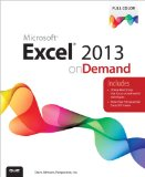 Excel 2013 on Demand   2013 edition cover