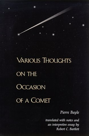Various Thoughts on the Occasion of a Comet   2000 edition cover