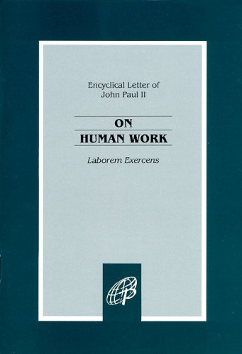 On Human Work Encyclical Laborem Exercens N/A edition cover