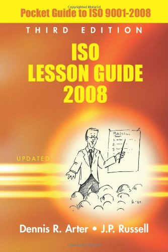 ISO Lesson Guide 2008 Pocket Guide to ISO 9001:2008 3rd 2008 edition cover