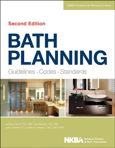 Bath Planning Guidelines, Codes, Standards 2nd 2013 edition cover