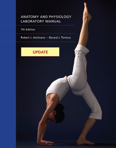 Update - Anatomy and Physiology  8th 2013 edition cover