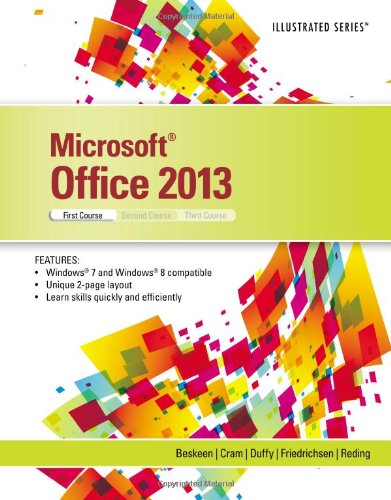 Microsoft� Office 2013 Introductory, First Course  2014 edition cover