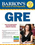 Barron's GRE  21st 2015 (Revised) edition cover