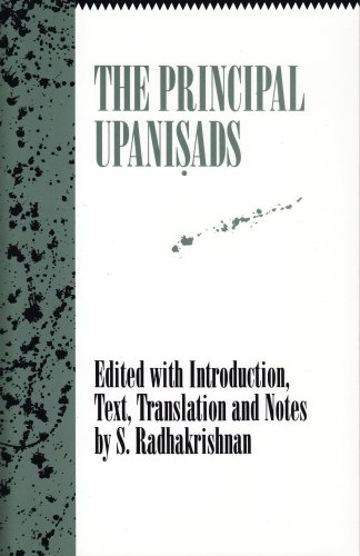 Principal Upanisads  N/A edition cover