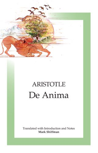 De Anima Translated, with Introduction and Notes N/A edition cover