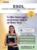 Praxis English to Speakers of Other Languages (ESOL) 0361 Teacher Certification Study Guide Test Prep  3rd (Revised) edition cover