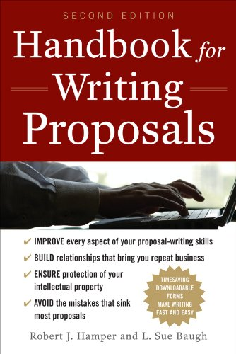 Handbook for Writing Proposals  2nd 2011 edition cover