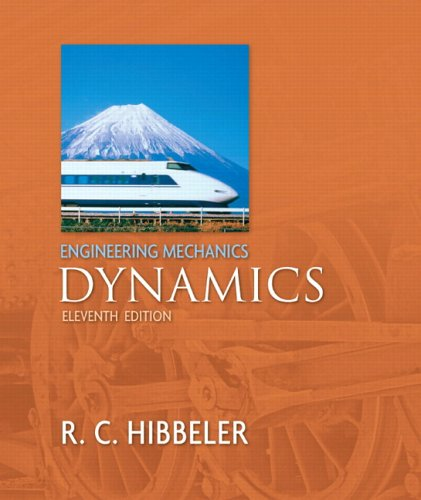 Engineering Mechanics Dynamics and SSP with FBD Package 11th 2007 edition cover