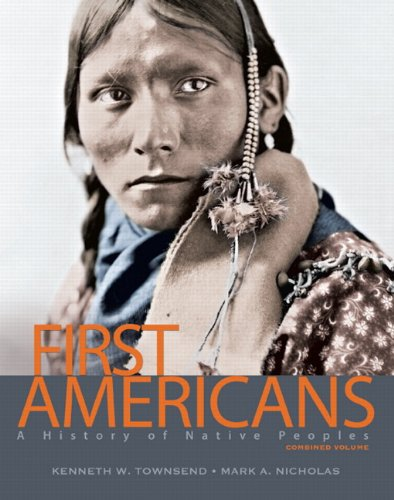 First Americans A History of Native Peoples  2013 edition cover