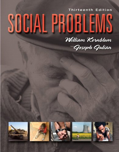 Social Problems  13th 2009 edition cover