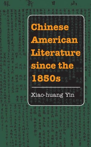 Chinese American Literature since The 1850s   2006 edition cover