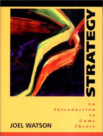 Strategy An Introduction to Game Theory  2002 edition cover