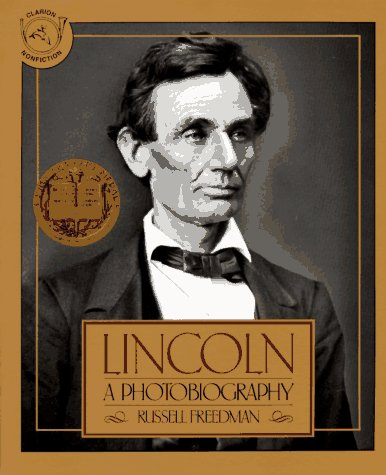Lincoln A Photobiography  1989 edition cover