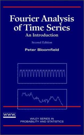 Fourier Analysis of Time Series An Introduction 2nd 2000 (Revised) 9780471889489 Front Cover