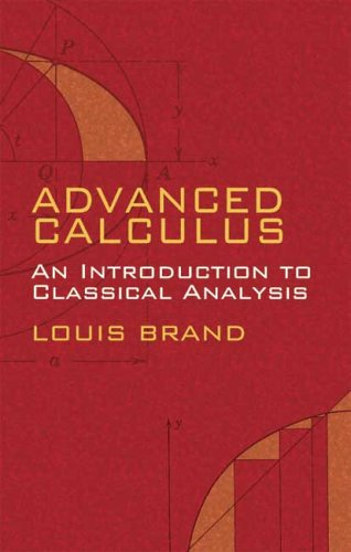 Advanced Calculus An Introduction to Classical Analysis  2006 edition cover