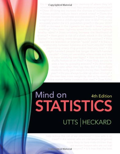 Mind on Statistics  4th 2012 edition cover