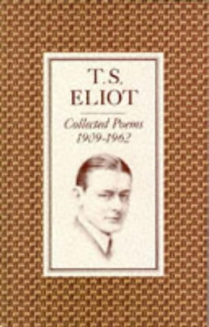 Collected Poems, 1909-1962  1974 edition cover