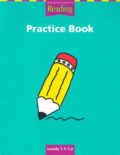 HM Reading Practice Book Levels 1. 1-1. 2  2000 9780618064489 Front Cover