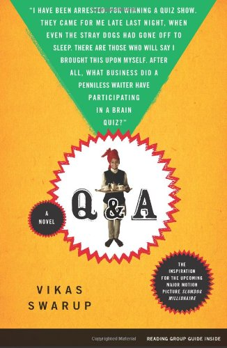 Q and A A Novel N/A edition cover