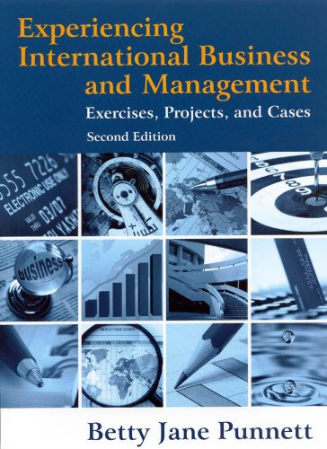 Experiencing International Business and Management Exercises, Projects, and Cases 2nd 2011 (Revised) edition cover