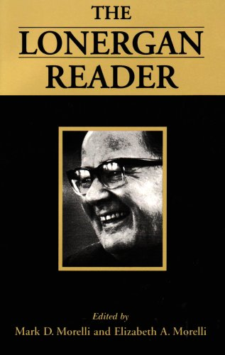 Lonergan Reader  2nd 1997 (Revised) edition cover