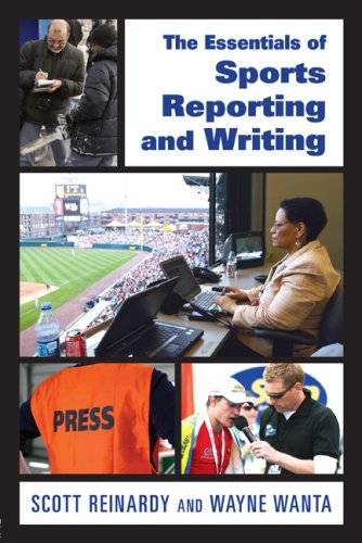 Essentials of Sports Reporting and Writing   2009 edition cover