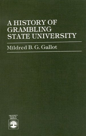 History of Grambling State University   1985 edition cover