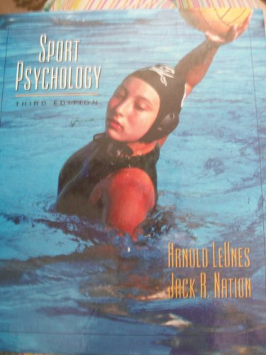 Sport Psychology An Introduction 3rd 2002 (Revised) edition cover