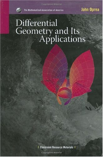 Differential Geometry and Its Applications  2nd 2007 edition cover