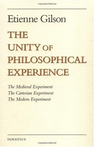 Unity of Philosophical Experience   1999 edition cover