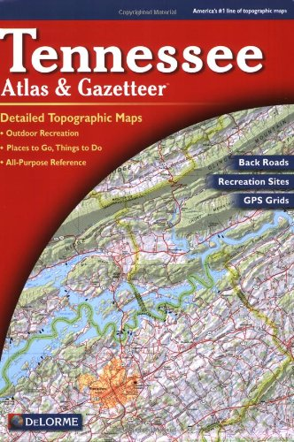 Tennessee Atlas and Gazetteer 6th edition cover