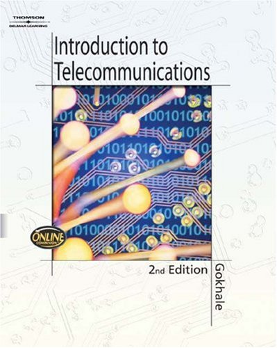 Introduction to Telecommunications  2nd 2005 (Revised) 9781401856489 Front Cover