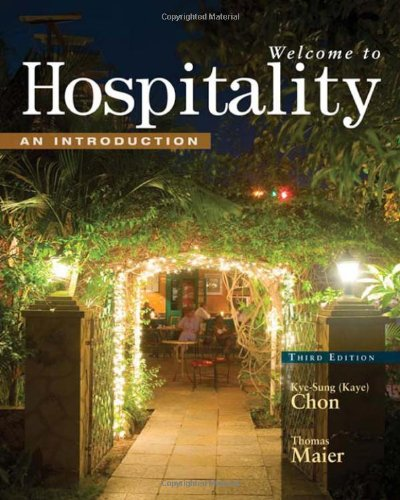 Welcome to Hospitality An Introduction 3rd 2010 edition cover